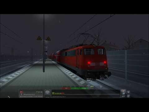 Train Simulator 2017, vR DB BR 110 und Wittenberger Steuerwagen