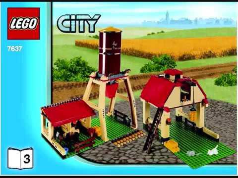 Lego City Farm YouTube - Lego minecraft hauser