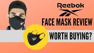 Reebok Face Mask Review INDIA Worth Buying Corona Virus Protection Pollution Protection