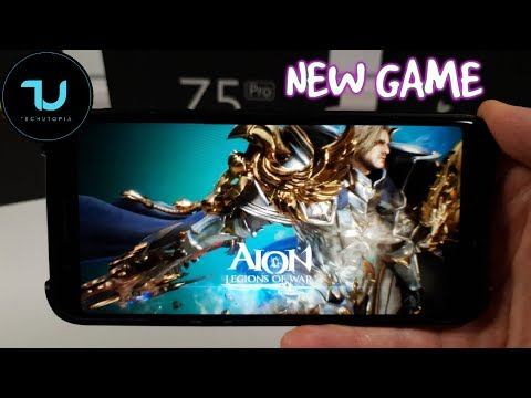 Aion: Legions Of War Android Gameplay/Ultra High Max Graphics 60FPS Snapdragon 845 Black Shark