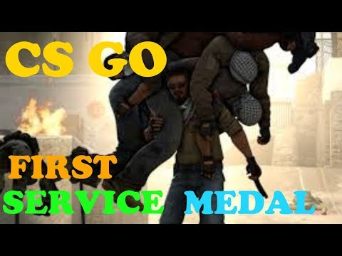 CS:GO - FIRST SERVICE MEDAL OF 2018