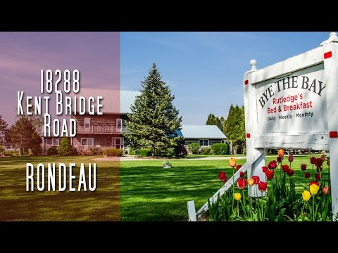 CHATHAM-KENT - 18288 Kent Bridge Road - Rondeau [propertyphotovideo]