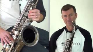 Mo Better Blues   Free online jazz saxophone lesson. Learn how to play tenor Sax