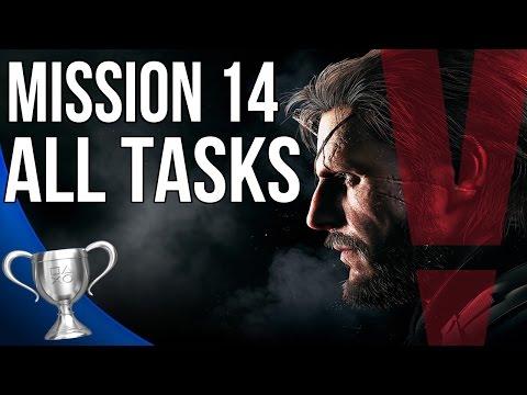 Metal Gear Solid 5 Phantom Pain - Lingua Franca All Tasks (Mission 14)
