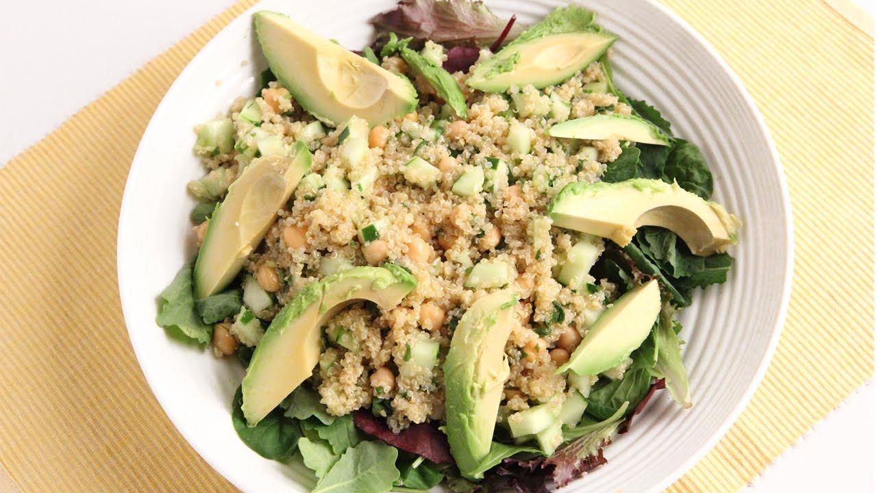 Quinoa & Avocado Salad Recipe - Laura Vitale - Laura in the Kitchen ...