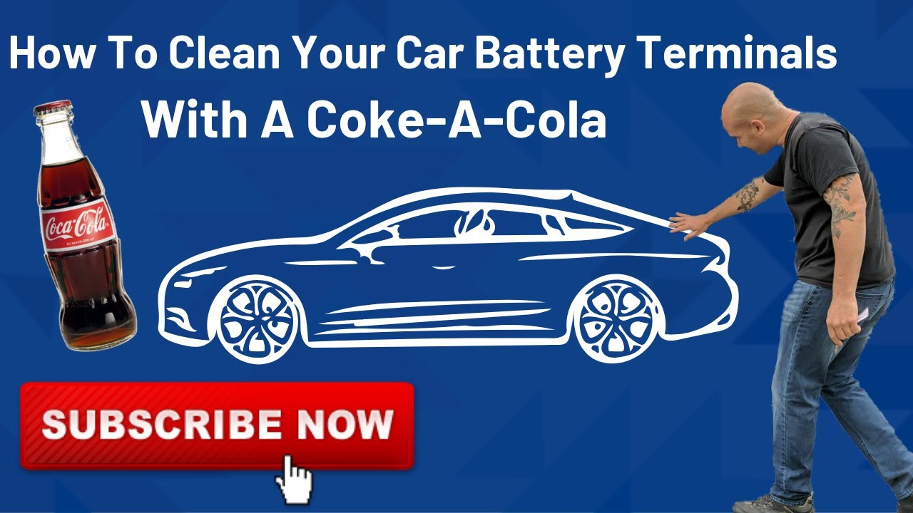How to clean your car battery terminals with coke a cola