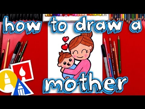 how-to-draw-a-mother-hugging-a-baby