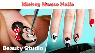 Disney Mickey Mouse Inspired Nails!