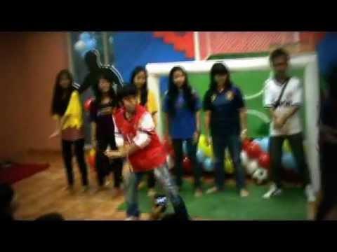 Ultah ajil super7 11th _ games Gangnam style versi ajil.