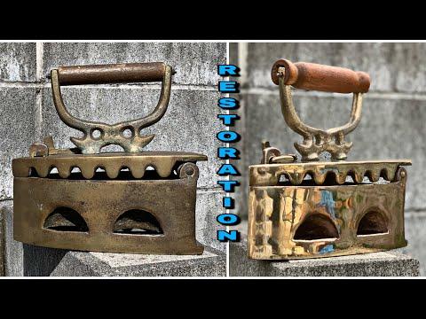 Antique Brass Iron Restoration