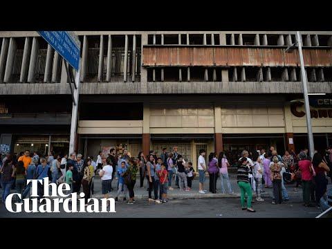 7.3 magnitude earthquake in Venezuela rocks buildings and cars