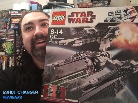 Lego 8087 Star Wars TIE Defender