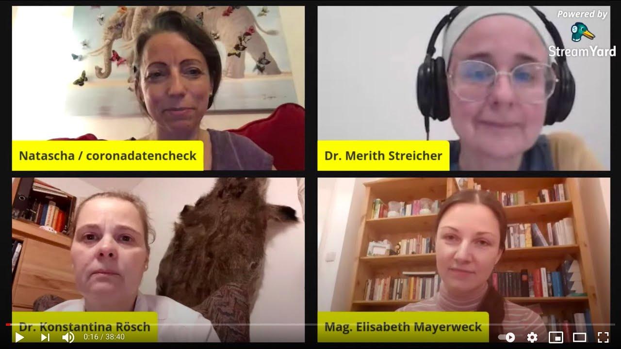 STOCKHOLM-SYNDROM: Gespräch mit Merith Streicher, Lisi Mayerweck u. Konstantina Rösch