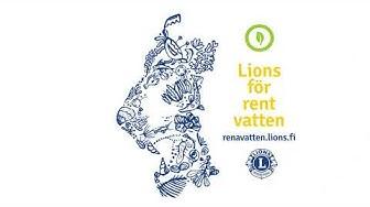 Lions för rent vatten