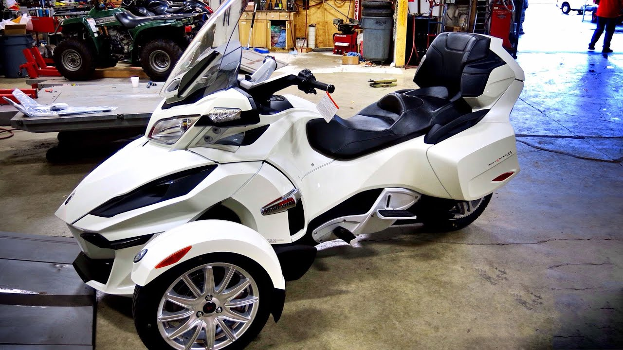 All New 2014 Can Am Spyder RT! - 1st Real Test Ride! | TestRides ...