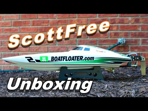 HobbyKing ScottFree Offshore Race Boat Unboxing, First Impressions & Tips - TheRcSaylors