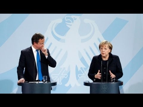 Merkel, Cameron stress friendship amid differences