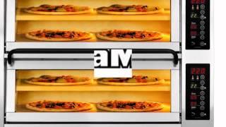 Печи для пиццы PIZZAMASTER от компании BakePartner Швеция