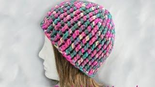 Häkeln - Mütze mit Reliefstäbchen aus hatnut fresh von Pro Lana