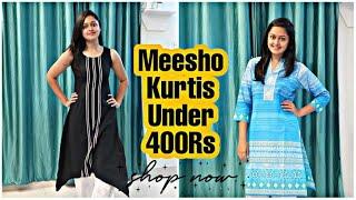 Meesho Kurtis Under 400 Rs || Daily Wear Kurtis For Just 400Rs || HEAVENLY HOMEMADE