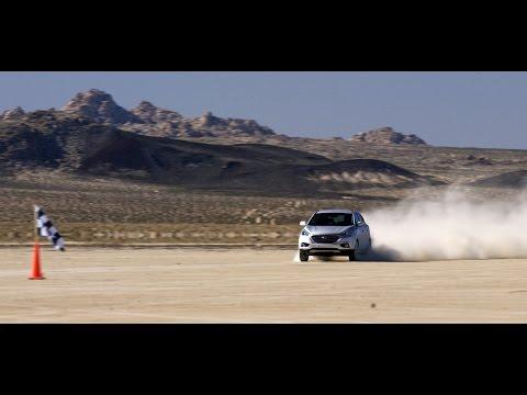 Рекорд скорости Hyundai ix35 Tucson на водородных топливных элементах