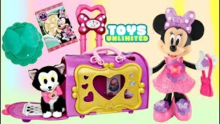 Minnie Mouse Happy Helpers Pet Cat Bag Carrier with Figaro's Carry Case