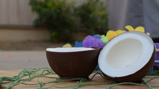 How To Make Coconut Ice Cream Bowls