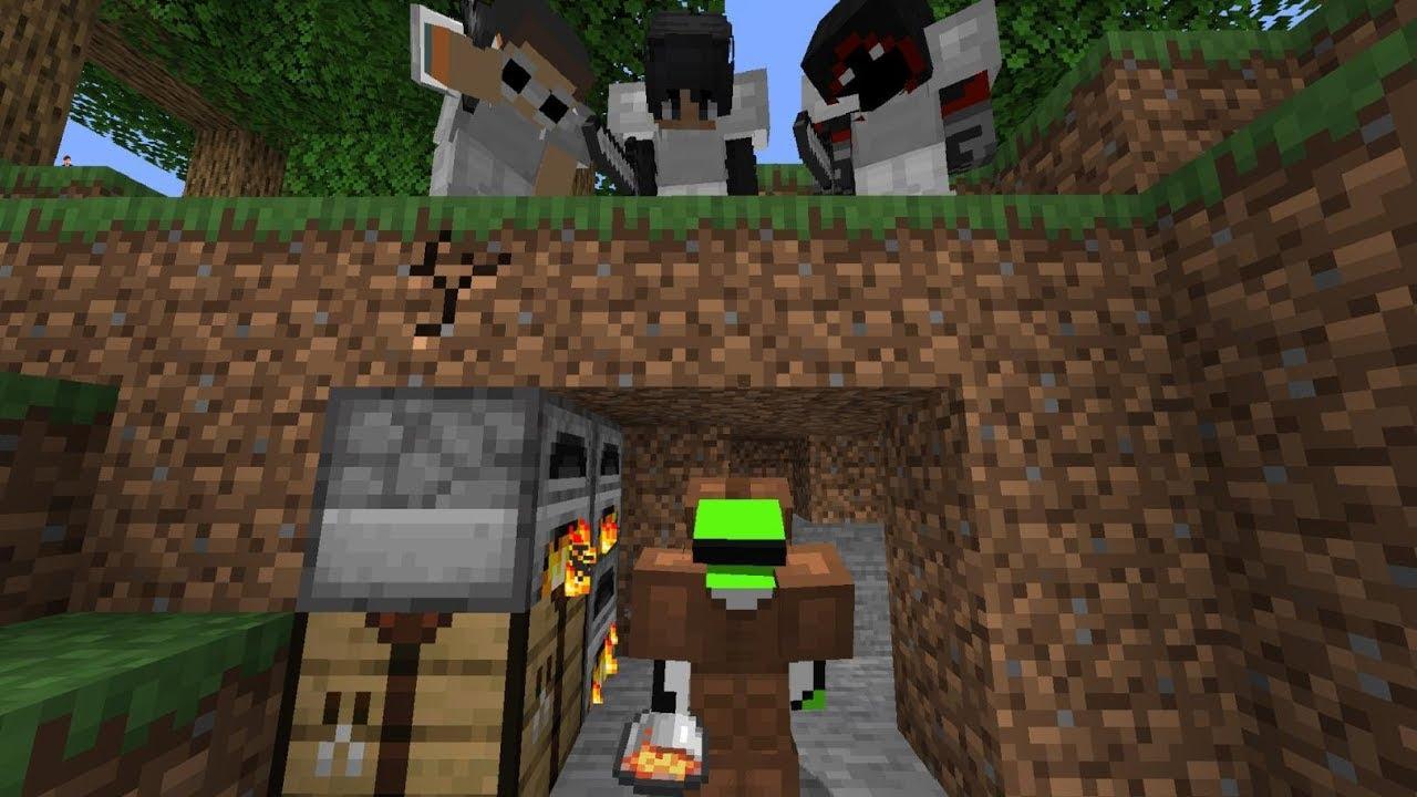 Download Minecraft Speedrunner VS 3 Hunters FINALE REMATCH