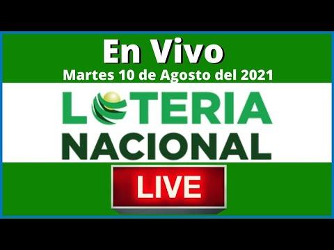 Lotería Nacional Noche  En Vivo Martes 10 De Agosto De 2021 #todaslasloteriasenvivo
