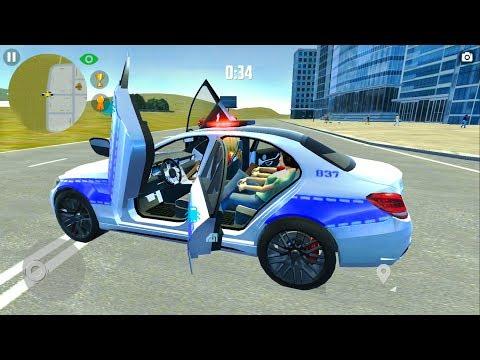 Arab Police Mercedes: City Car Simulator - Android Gameplay