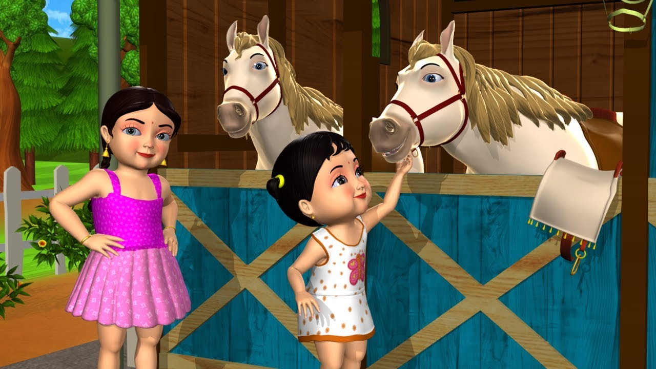 Animal Homes Song - 3D Animation English Nursery Rhymes & Songs For Children