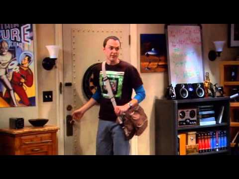 The Big Bang Theory- Sheldon making friends (The Scientific Way)
