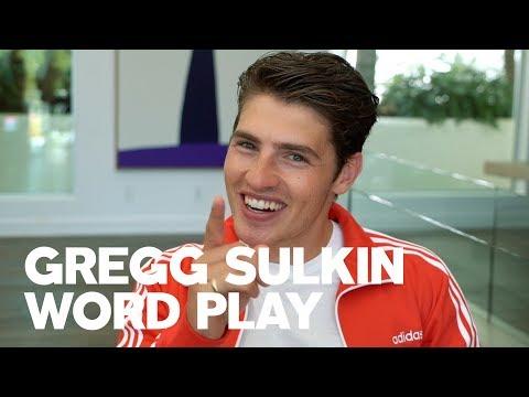 Gregg Sulkin for RAW's Word Play