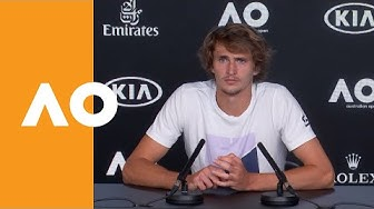 """Alexander Zverev: """"He's playing the best tennis of his life""""   Australian Open 2020 Press Conference"""