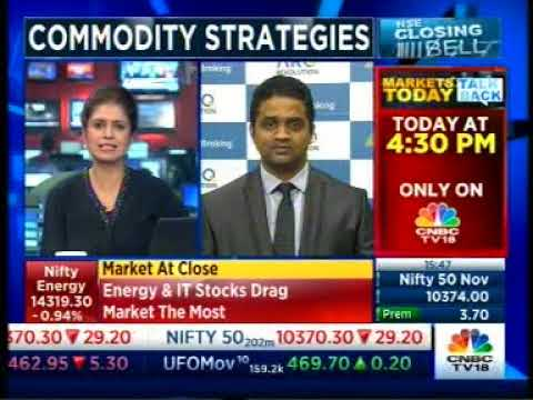 Sell Copper with a target of INR 433- Mr. Prathamesh Mallya, CNBC TV 18, 28th November
