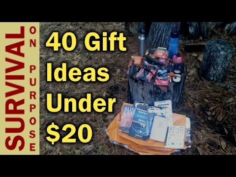 40 Outdoor Gifts Ideas for Under $20 Dollars - Survival Gear