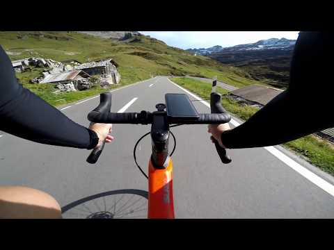 Klausenpass Downhill West Full Descent In 4k! [Cycling Switzerland]