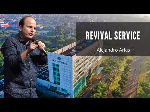 Revival service @ Betanhy church in Surabaya Indonesia