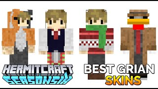 Top 5 Grian Skins of Hermitcraft 6 The Best of Grian YouTube