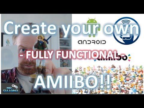 Make / Create your own Amiibo! Tagmo, Android & NFC.