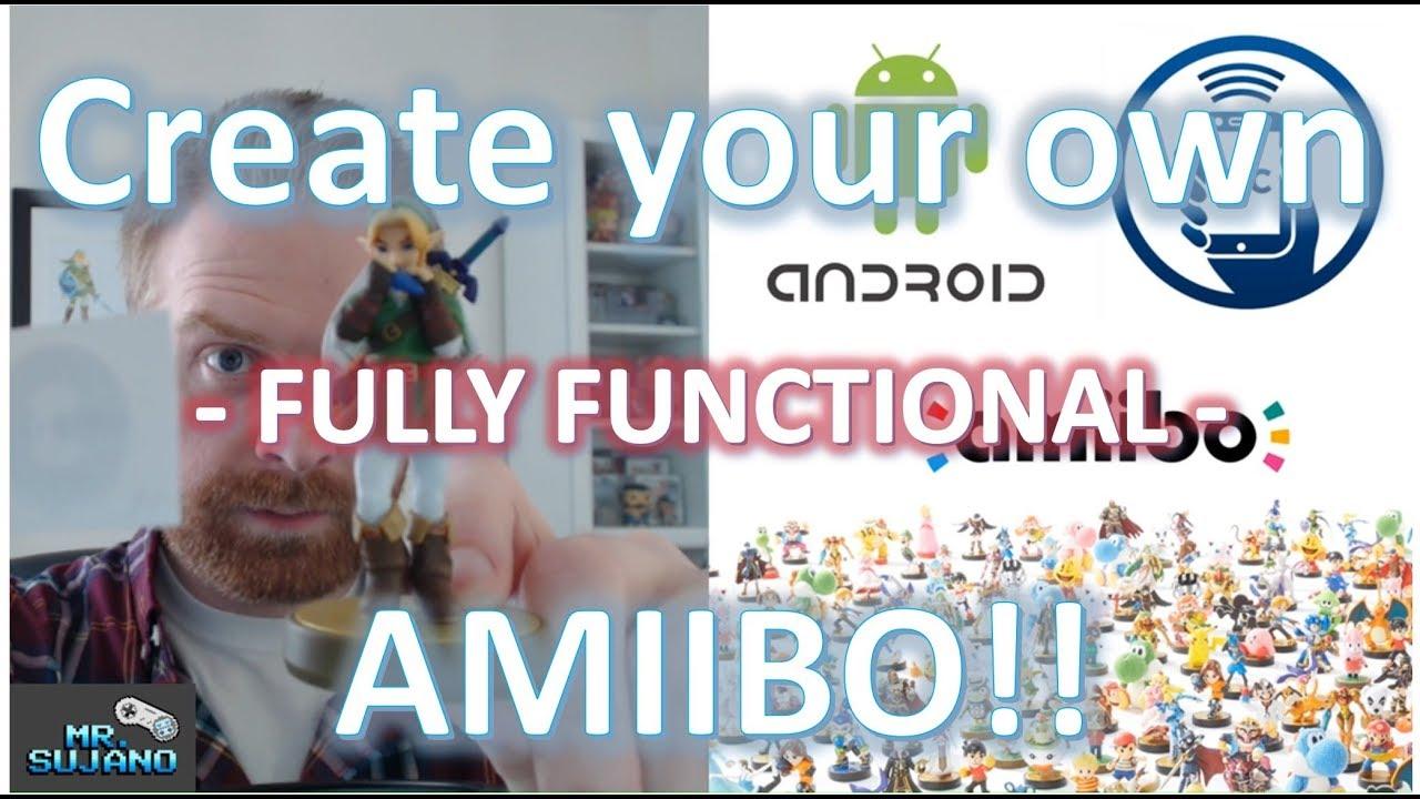 Make / Create your own Amiibo! Tagmo, Android & NFC
