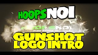 Gunshot Logo Intro - Adobe After Effects