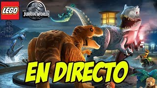 LEGO JURASSIC WORLD EN DIRECTO! - Preparando Jurassic World Fallen Kingdom
