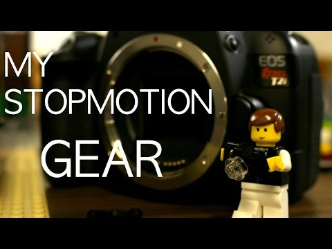 My Brickfilming Equipment- Stop Motion Animation