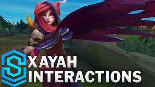 Xayah Special Interactions