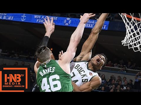 Boston Celtics vs Milwaukee Bucks Full Game Highlights / Game 3 / 2018 NBA Playoffs