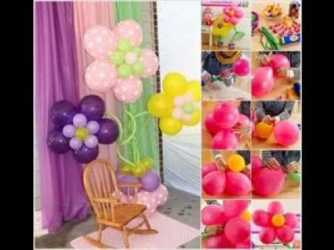 Easy Balloons Decorating Ideas Youtube