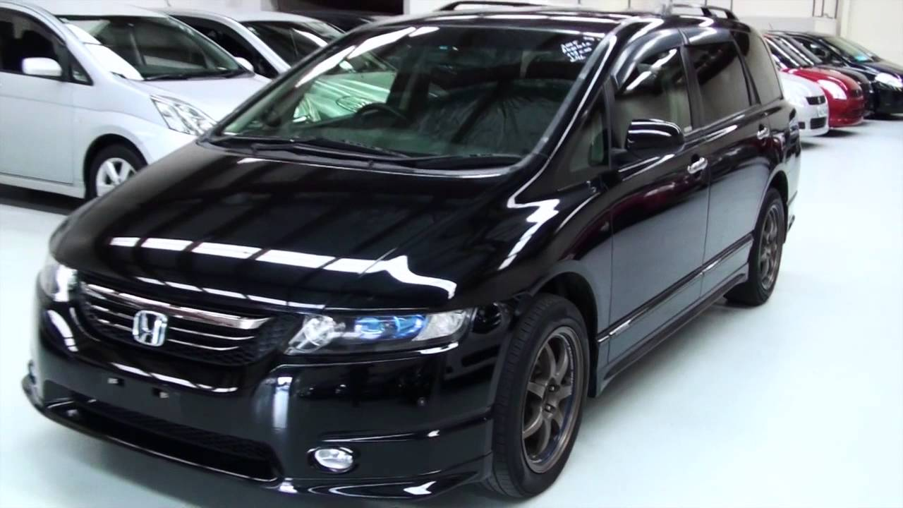 honda odyssey absolute 2005 4wd 7 seater 2 4l auto youtube. Black Bedroom Furniture Sets. Home Design Ideas