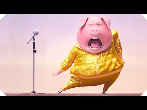 SING Trailer # 2  (Animation Blockbuster – 2016)