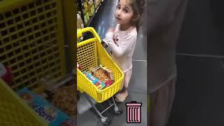 Sisi at supermarket